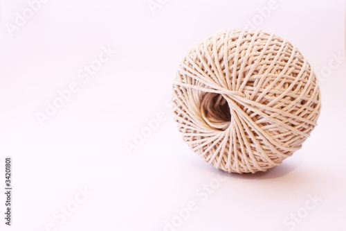 Close up of ball of string