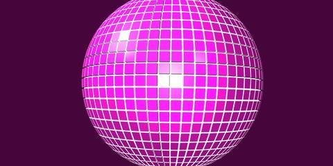 Pink Discokugel