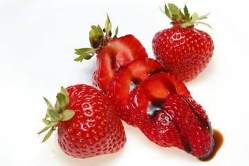 Erdbeeren mit Balsamico