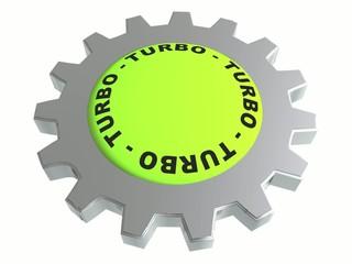 Turbo gear animated