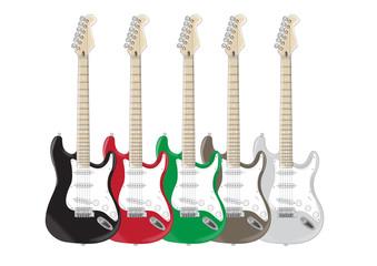 Chitarre colorate!