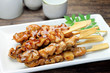 barbecued chicken(yakitori)