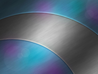 Modern metallic aluminum plate background