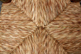 enea chair seat traditional dried reeds grass handcrafts poster
