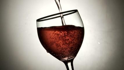vino nel bicchiere