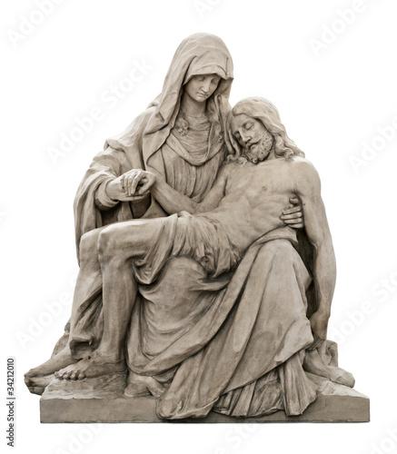 Jungfrau Maria mit dem Leichnam Christi