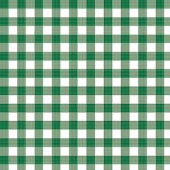 Karomuster Grün