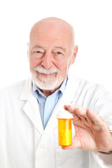 Pharmacist with Prescription