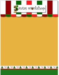 workshop santa sheet