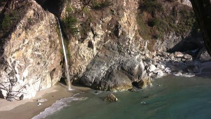 California Coasts Big Sur McWay Fall 25 LS Loop