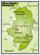 Landkreise Oberallgäu und Kempten Variante8