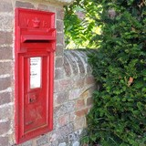 Victorian post box, with wide aperture modification.