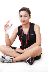 Lady athlete