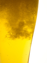 bicchiere appannato di birra