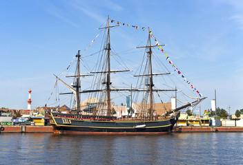 Vollschiff auf der Festwoche