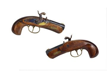 2 old duell guns