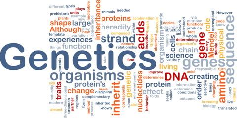 Genetics dna background concept