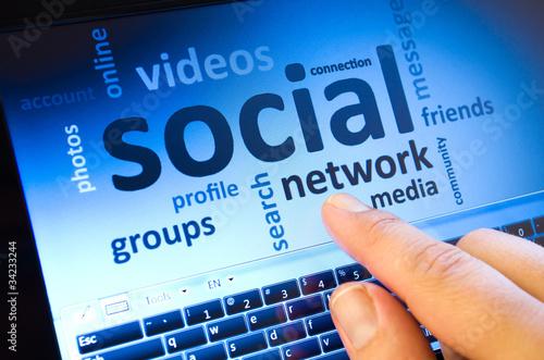 social network - 34233244