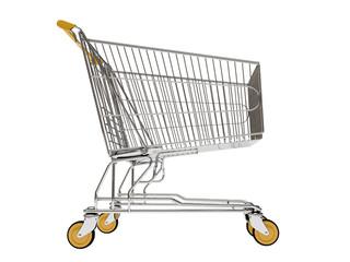 Shopping carts isolated