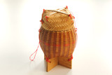 Weave handcraft container poster