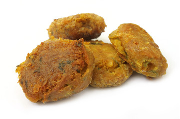 Arabian Kabab of fried meat