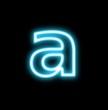 a、アルファベット、小文字