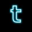 t,アルファベット,小文字