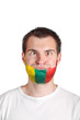 Lithuania basketball fan