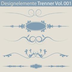 Designelemente Trenner 001
