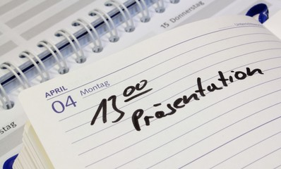 Kalender Präsenation