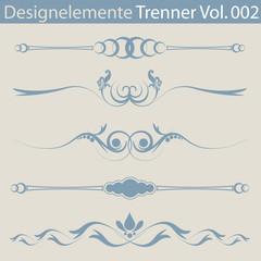 Designelemente Trenner 002