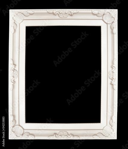 quot cadre blanc de style baroque quot photo libre de droits sur la banque d images fotolia image