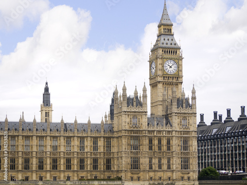 Big Ben, Houses of Parliament in City of Westminster London Poster