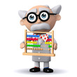 3d Mad Scientist goes back to basics with an abacus