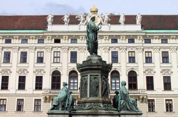 Emperor Franz I statue, Vienna, Hofburg