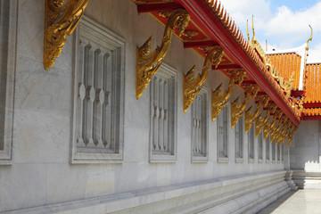 Windows of temple Thailand