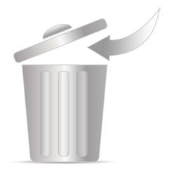 Recycling Mülltonne
