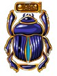 The Egyptian sacred symbol - scarab