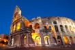 Colosseum Dusk, Rome Italy