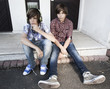 jeunes garçons et cigarette