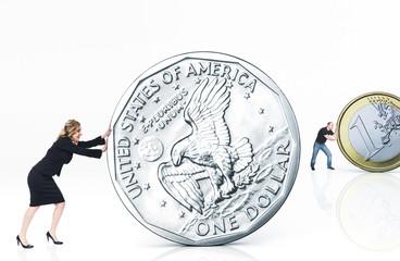 dollar and euro challenge