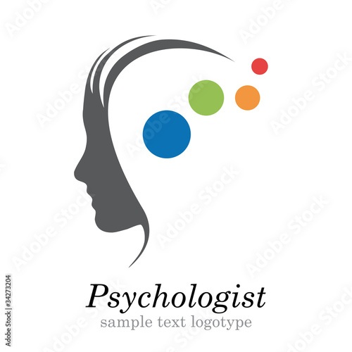 Logo psychologist # Vector