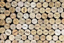 Tło wina korków