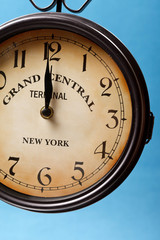 clock of grand central station