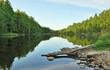 A lake in Karelia, Russia