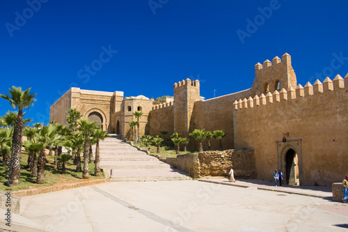 Fotobehang Marokko Rabat Kasbah