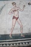 Mozaika z římské vily