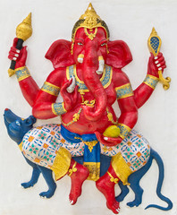 Indian or Hindu God Named Vijaya Ganapati