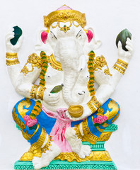 Indian or Hindu ganesha God Named Bhakti Ganapati