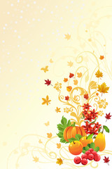 Autumn or Fall season background